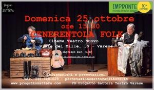 Cenerentola Folk-25 ottobre