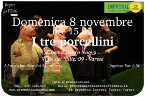 8 novembre Impronte